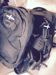Backpackcornishflag